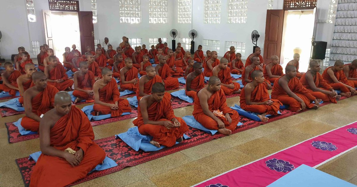 Sati Pasala Mindfulness Programme at Vipasana Meditation Center, Kalalgoda