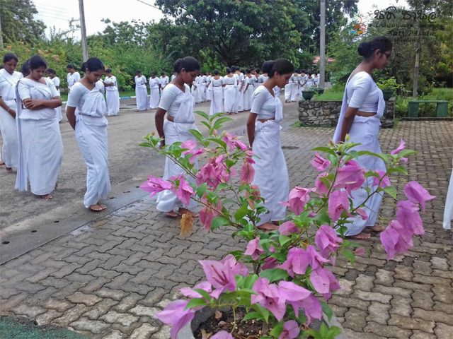 Sati Pasala Program at Pulathisipura National College of Education, Polonnaruwa