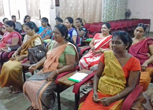 Sati Pasala Mindfulness Program for the Child Rights Promotion Officers of the Central Province