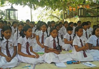 Sati Pasala Program at Uduweweka Maha Vidyalaya