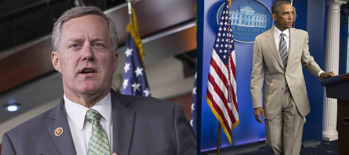 Meadows Says He'll Grill Mueller About Obama's Tan Suit