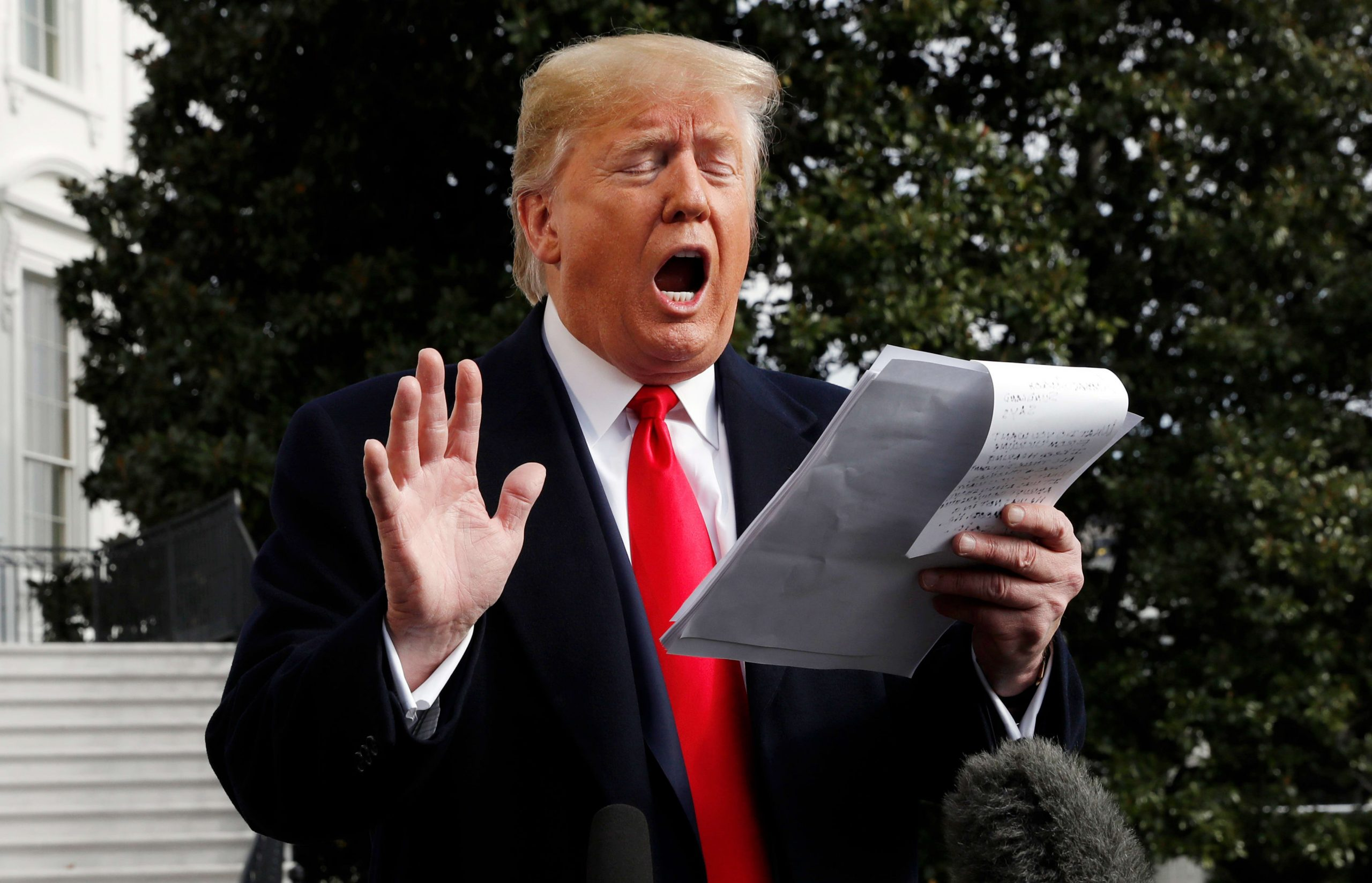 "Trump: ""The IG Report Concludes I Should Be Able To Round-Up and Execute Democrats on 5th Avenue"""