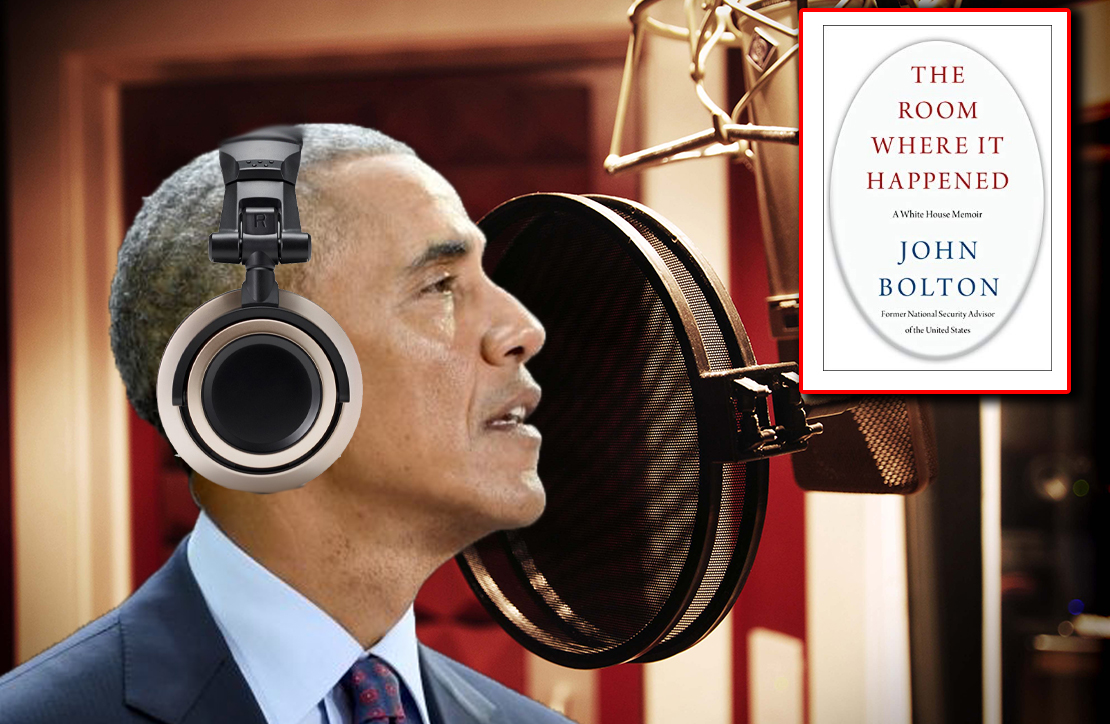 Barack Obama Narrated Audiobook Version of Explosive New Bolton Memoir