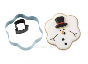 Melted Snowman Cookie Cutter from Memories and Pastimes