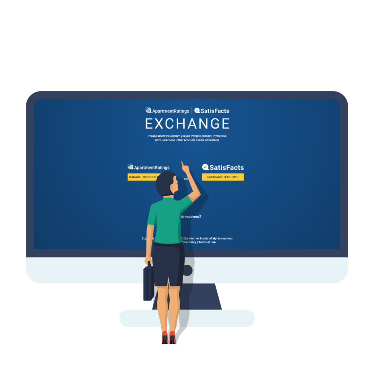 Exchange login page