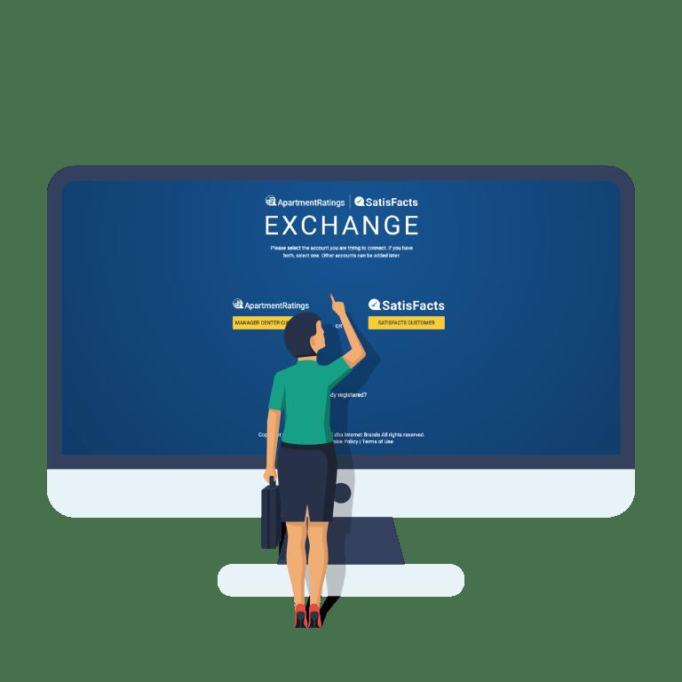 Exchange login page