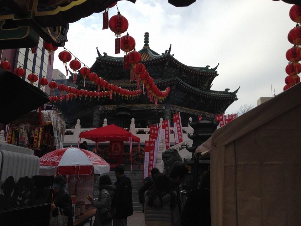 媽祖廟(旧正月)