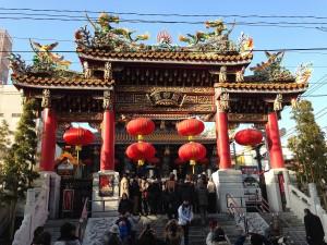 関帝廟(旧正月)