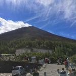 富士山五合目(山頂側)