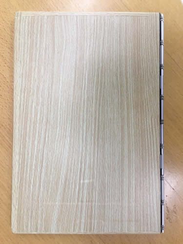 YOGA BOOK with Windows(施工後・裏側)