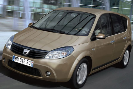 Dacia intră şi pe piaţa monovolumelor
