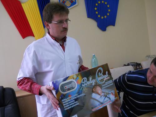 """Echipamente anti-apnee de la """"Rotary"""" pentru secţiile Nou Născuţi şi Pediatrie"""