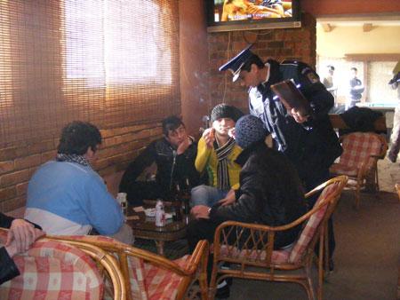 10 chiulangii prinși de polițiști