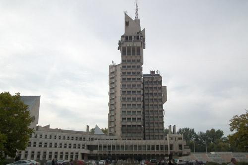 Palatul Administrativ nu are autorizație de la pompieri
