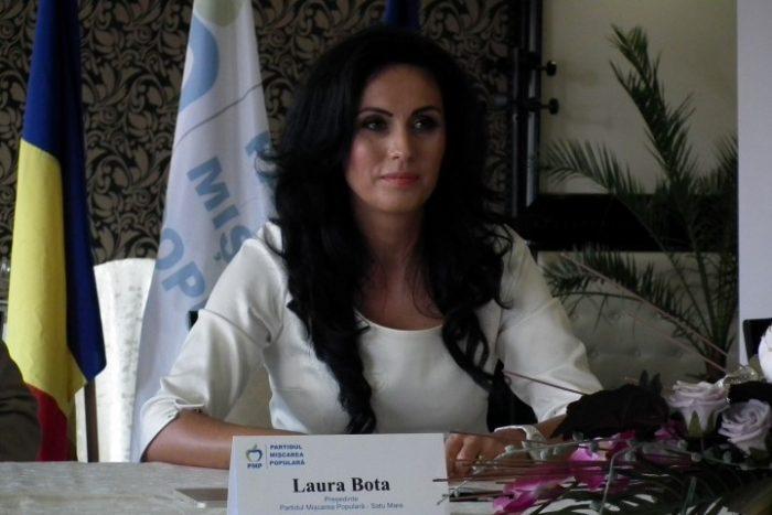 Laura Bota, reconfirmată în fruntea Organizației Județene a PMP Satu Mare