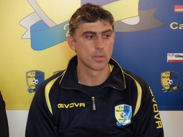 Tiberiu Csik este noul antrenor al FC Olimpia Satu Mare
