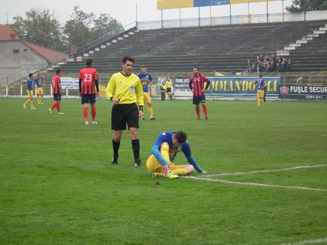 Fotbal: Olimpia Satu Mare – CS Unirea Tărlungeni 1-0
