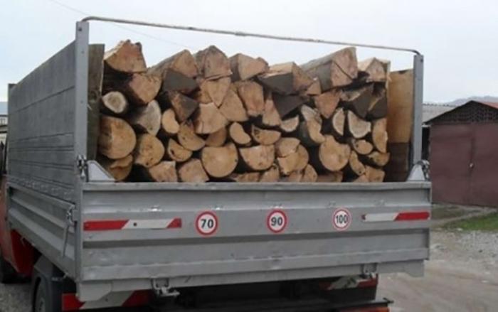 Jandarmii l-au lăsat fără lemne