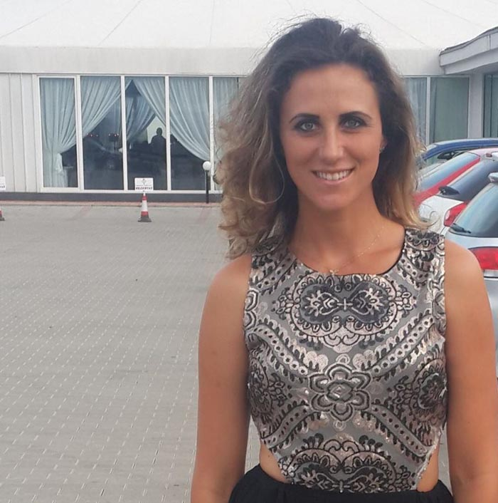 Andreea Olah s-a întors la Satu Mare