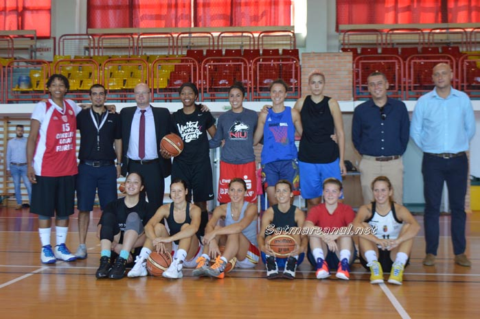 Vezi echipa de baschet a CSM Satu Mare