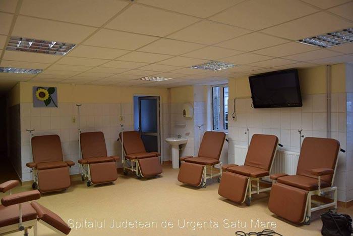 Secția de Oncologie a Spitalului Județean, modernizată (Foto)