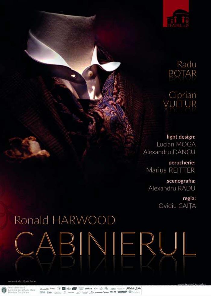 """Premiera spectacolului """"Cabinierul"""" în Sala Mare a Teatrului de Nord"""