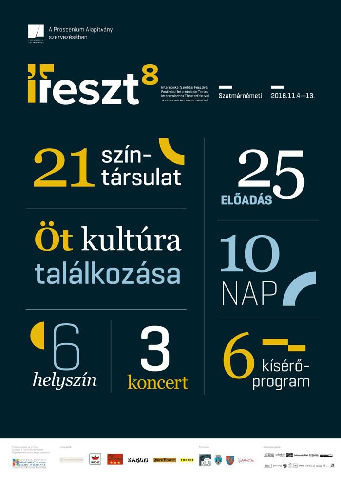 Festival Interetnic de Teatru la Satu Mare. Vezi detalii
