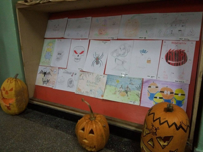 "Concurs de Halloween la Colegiul Tehnic ""UNIO-Traian Vuia"""