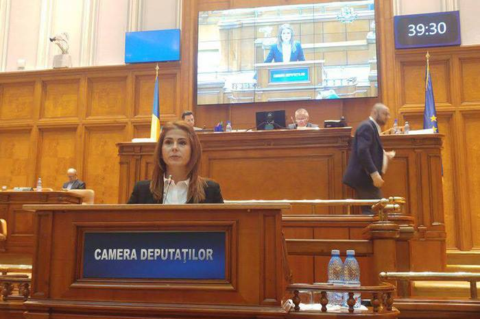 Ioana Bran a fost aleasă secretar al Camerei Deputaților