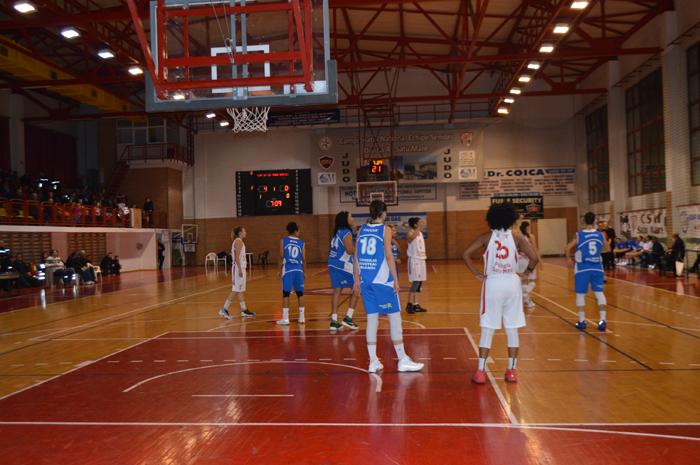 Baschet: CSM Satu Mare a învins Olimpia Brașov