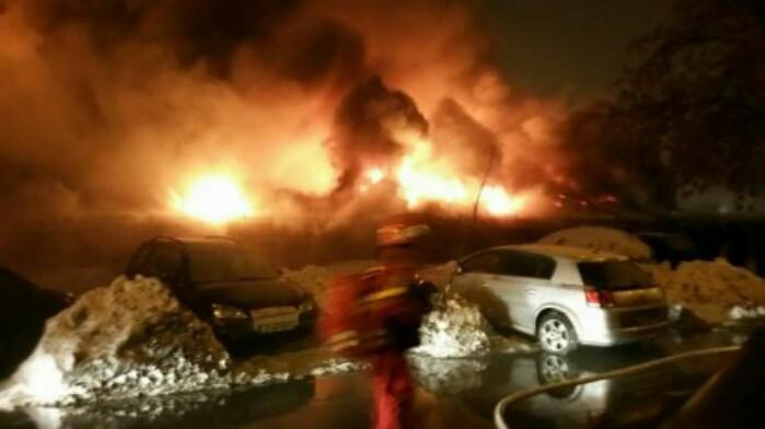 Incendiu devastator la Clubul Bamboo din Capitală. Zeci de răniți
