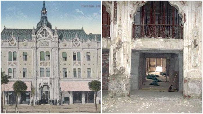 Hotelul Dacia, de la bijuterie la ruină (Foto)