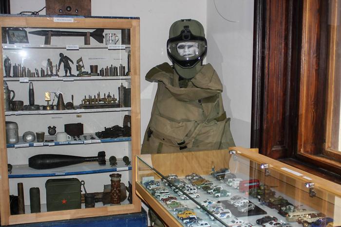 Expoziție de relicve militare la Castelul din Carei