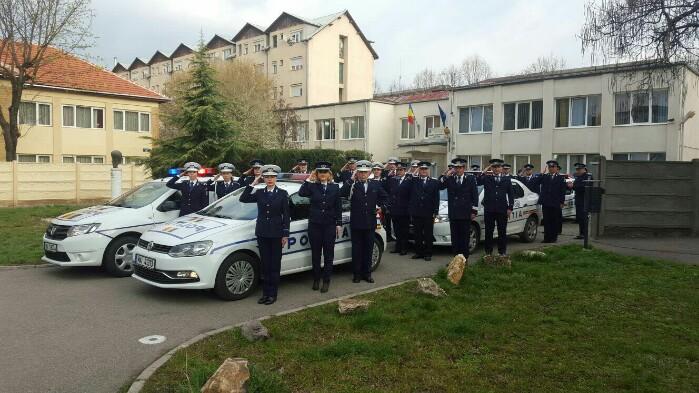 Moment de reculegere în memoria polițiștilor căzuți la datorie