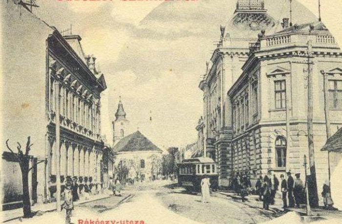 Cum arăta zona Tribunalului din Satu Mare, cu 100 de ani în urmă (Foto)