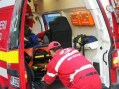 Sătmărean accidentat în Șomcuta Mare. Victima, la spital