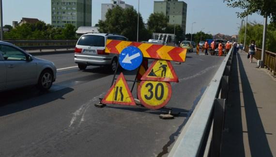 Se reiau lucrarile pe Podul Decebal ! Ce spune conducerea Primariei
