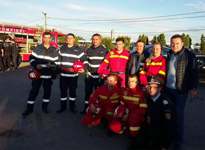 S-au stabilit câștigătorii ! Pompierii sătmăreni merg la națională (Foto)