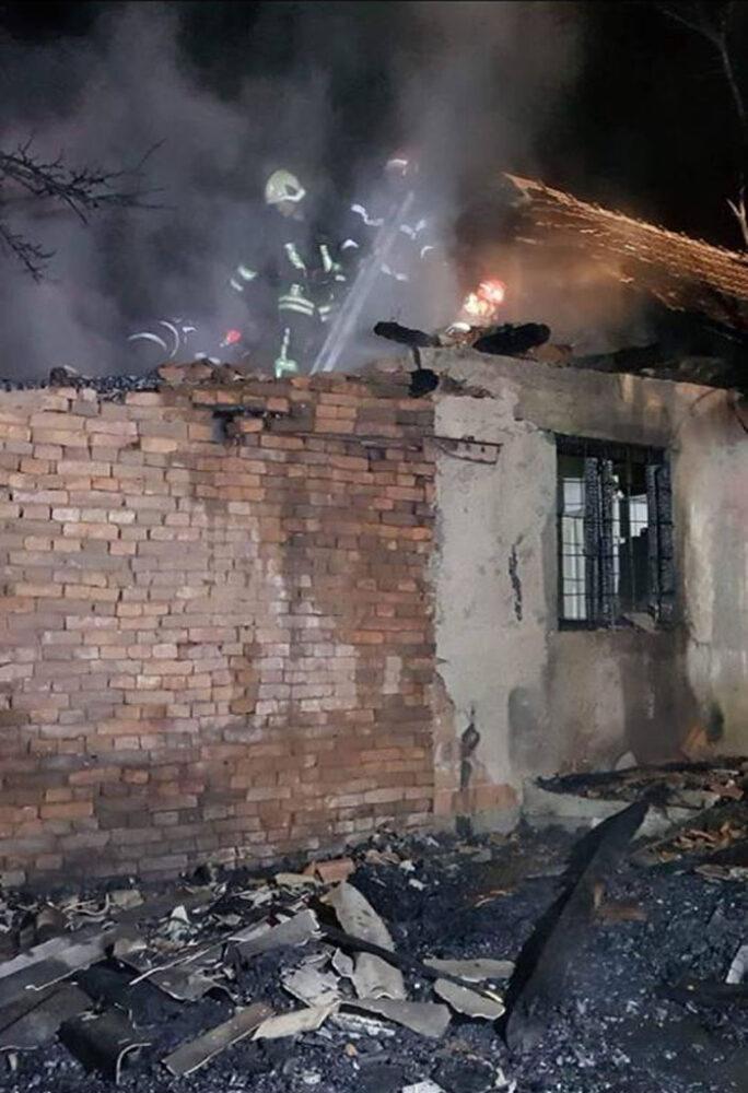 Incendiu la o casă din Acâș (Foto)