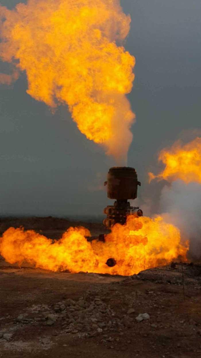 Echipajele de la Moftin vor să injecteze nămol în sonda de gaz