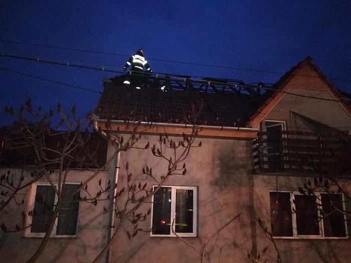 Incendiu la o casă din Halmeu (Foto)