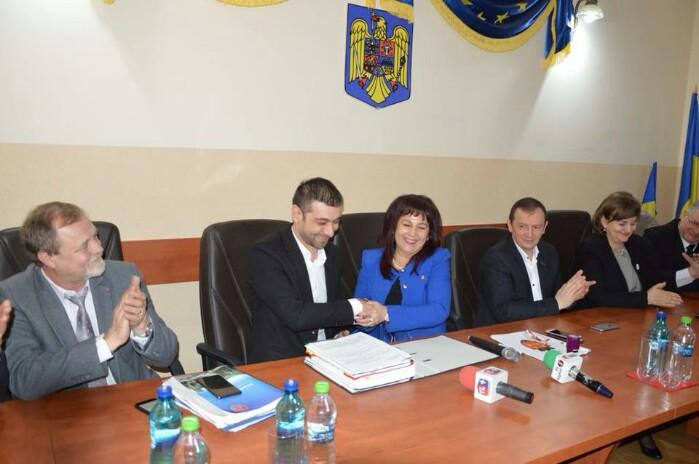 S-a semnat contractul de finanțare pentru podul Seini-Pomi