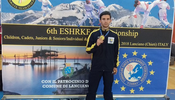Medalie de bronz la Europenele de karate (Foto)