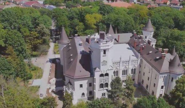 Castelul care a atras atentia celor de la Hollywood. Se afla in judetul Satu Mare