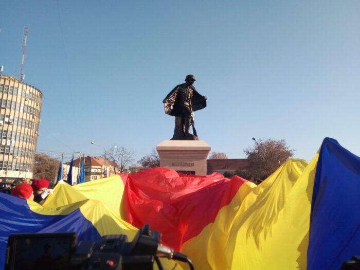 Statuia Eroului Necunoscut, dezvelita la Satu Mare (Foto)