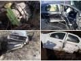 Accident mortal. Trei masini si un camion cu butelii, implicate (Foto)