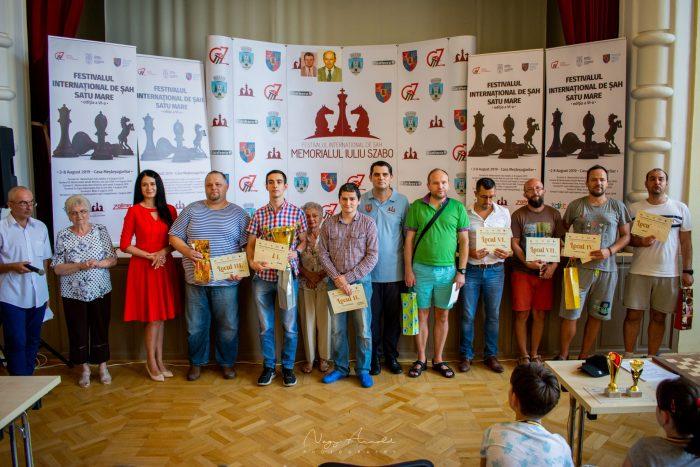 Final surprinzător și fericit la cel mai puternic festival de șah din istoria județului Satu Mare! Toate clasamentele (galerie foto)
