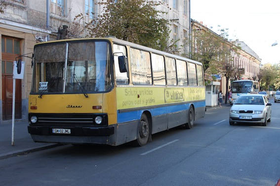 Mai răruț cu autobuzul prin Satu Mare