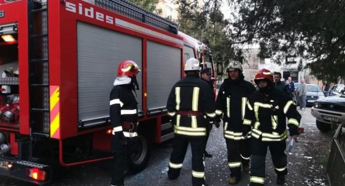 Zeci de pompieri, polițiști și jandarmi în acțiune la explozia de pe Cloșca (video)