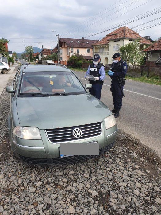 Razii ale Poliției în județ. Peste 220 de șoferi amendați în 24 de ore